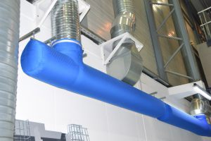 Kienzler-Luftschlauch-Industrie-Handwerk-02Kienzler-Luftschlauch-Krankenhaus-Labor-03-Textilluftschlauch-Luftverteilsystem